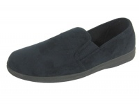 M011 NEW - Men's ''EE'' Fit Twin Gusset slipper